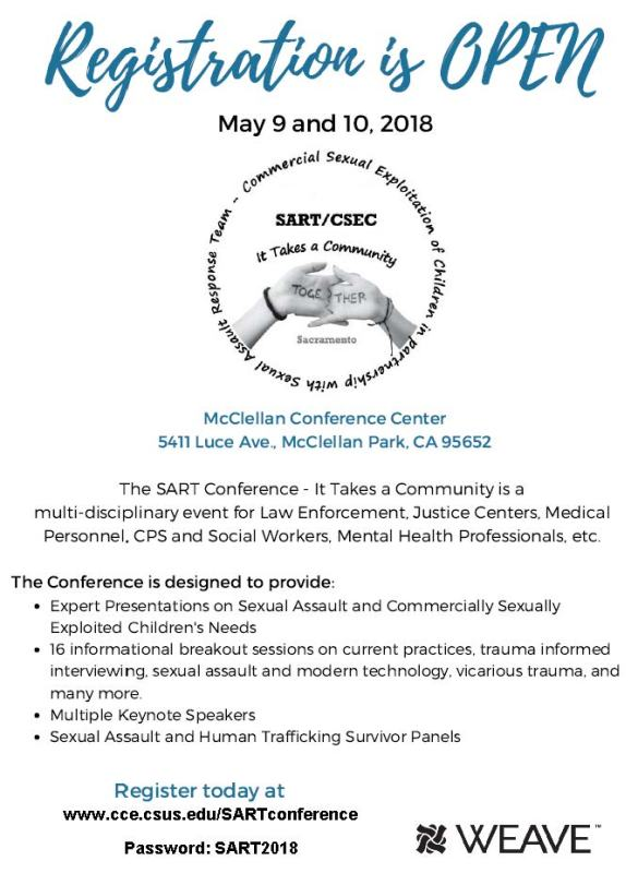 WEAVE SART Conference 2018